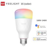 Tira de luces LED Yeelight E27, tira de luces LED de colores de 800 lúmenes con WiFi para proteger los ojos de Lemon Xio mi, lámpara para hogares con RGB y iOS con Control remoto