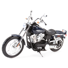 Maisto 1:12 2006 FXDBI Dyna sokak Bob döküm araçları koleksiyon hobiler motosiklet Model oyuncaklar