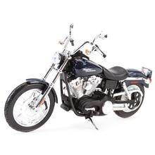 Maisto 1:12 2006 FXDBI Dyna شارع بوب يموت يلقي المركبات هوايات تحصيل نموذج دراجة نارية اللعب