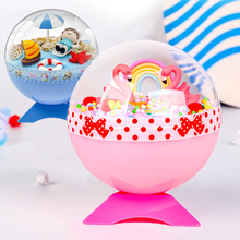 Children Creative DIY Magic Crystal ball Toys Baby Handmade Micro Landscape Handicrafts Material Bag Eudcational Toys Kids Gifts