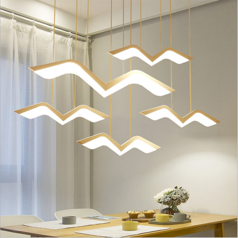 Zerouno Led Pendant Light Modern New Pendant Lamp Home Hotel Loft Decor Led Hanging Light 220w 10w 17w 27w 37w 47w Hang Lights