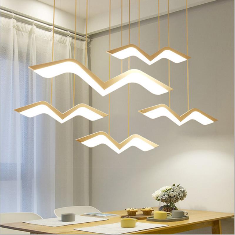 Zerouno Led Pendant Light Modern New Pendant Lamp Home Hotel Loft Decor Led Hanging Light 220w 10w 17w 27w 37w 47w Hang Lights