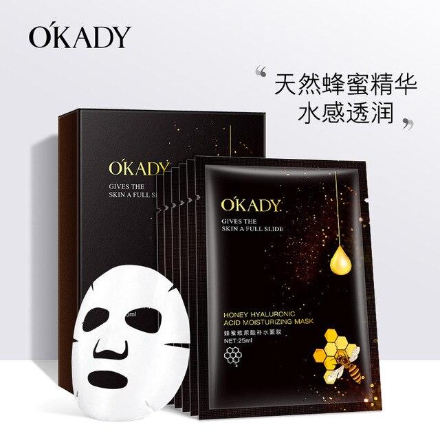 Honey Hyaluronic Acid Hydrating Mask  mascara facial  face masks  korean skin care  natural beauty products 1