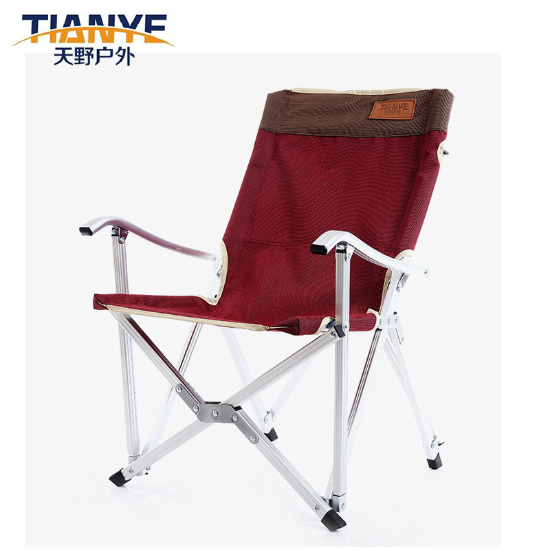 Manufacturers Direct Selling Juchuan Chair Okawa Chair Outdoor Beach Lounge Chair Foldable Aluminum Tube Chair Oxford Cloth Arm