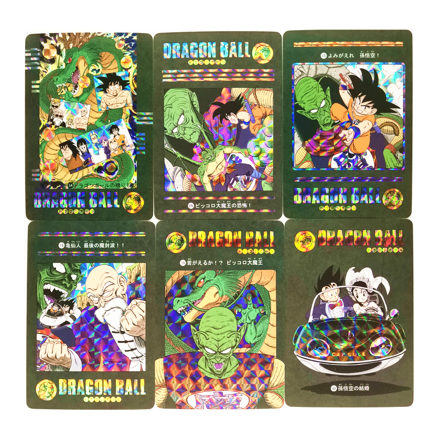54pcs/set Super Saiyan Dragon Ball Stormy Situation Piccolo Heroes Battle Card Ultra Instinct Goku Game Collection Cards