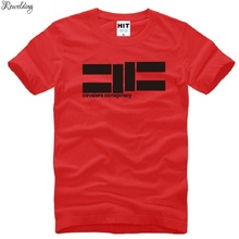 T-Shirts Men Hiphop Short-Sleeve Rock Cotton Fashion Summer Top-Tee Music Cavalera Conspiracy