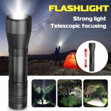 LED Flashlight Waterproof Bright Torches T6/L2 Zoom-able Hom