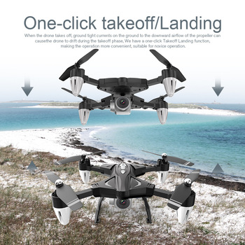 F69 RC Drone Helicopter With Camera Drones 480P/1080P WIFI FPV Selfie Professional Foldable Quadcopter 20 Minutes 4 Channels