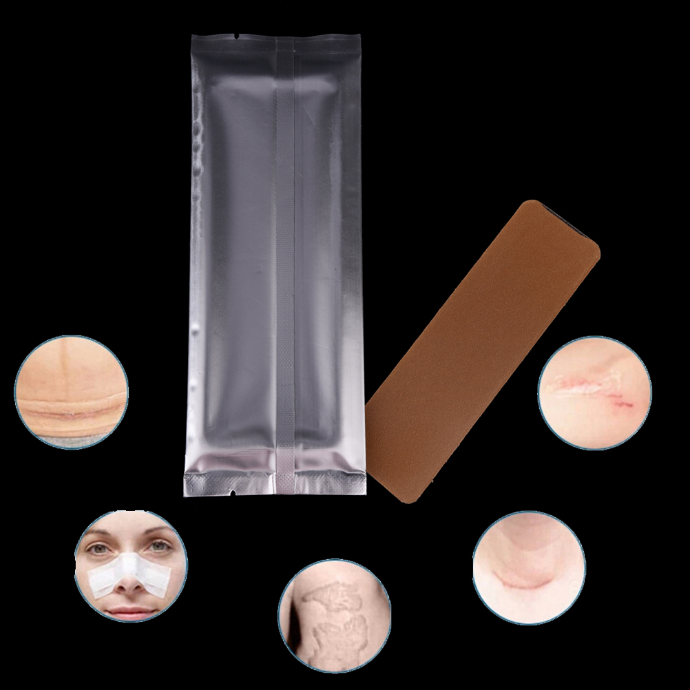 3.5*15cm Silicone Gel Scar Sheet Removal Patch Reusable Acne Gel Scar Therapy Sheet Skin Repair
