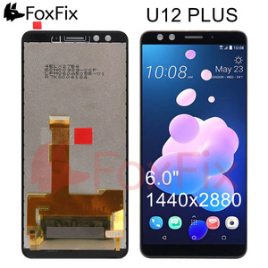 Image 1 - FoxFix Display For HTC U12 Plus LCD Display Touch Screen Digitizer Panel Assembly For HTC U12 Plus Display Replacement