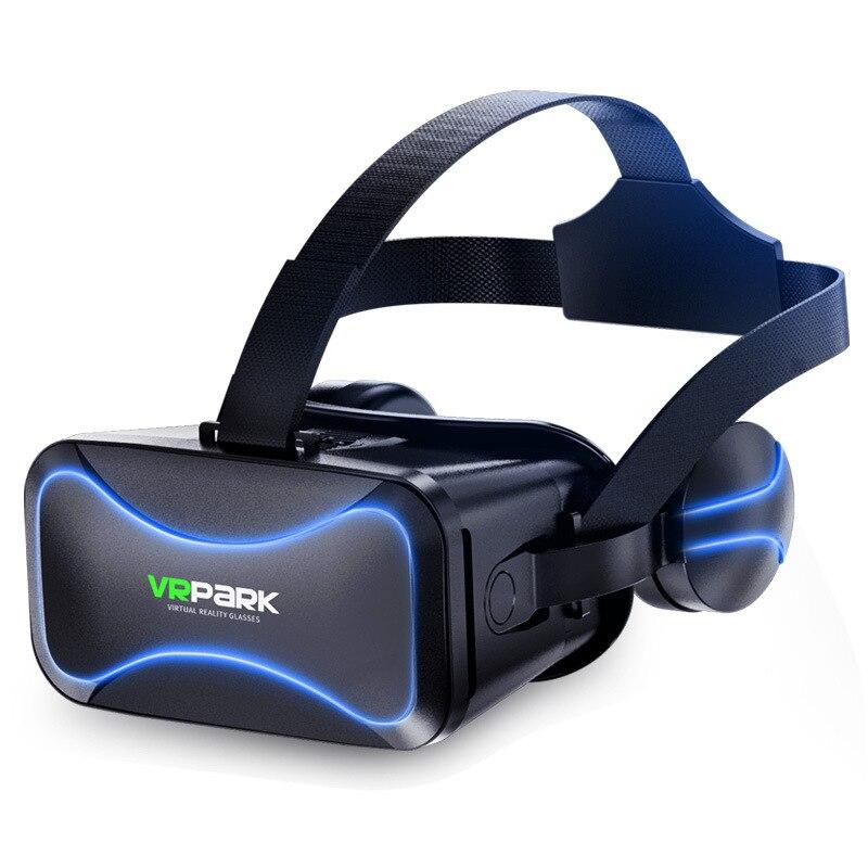 VRPARK j30 Очки виртуальной реальности VR очки с гарнитурой версии очки виртуальной реальности очки панорамный 3d очки дополненной реальности VR шлем для 4 - 6 дюймов мобильный телефон