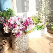 Imitation Flowers Model Plants Korean Hydrangea Home Decoration Crafts Artificial Flower Wedding Factory Wholesale DY1-554A(China)