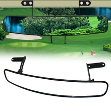 16.5 Inch Universal Wide Rear View Convex Golf Cart Mirror for EZ Go, Club Car, Yamaha,180 Degree Extra Wide Panoramic