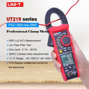 Industrial Digital Clamp Meter UNI-T UT219E UT219M UT219DS;True RMS AC DC voltage current