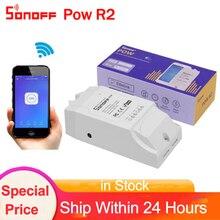 Sonoff Pow R2, Wireless WiFi 15A Power switch Watt Meter Con