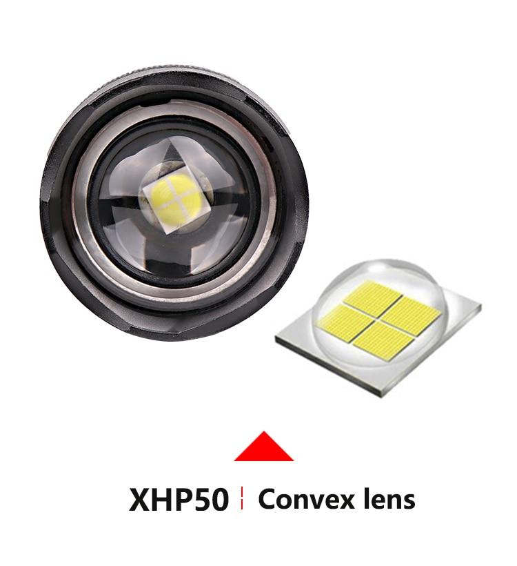LightMAX™ 50K Glare P50 High Power LED Aluminum Flashlight