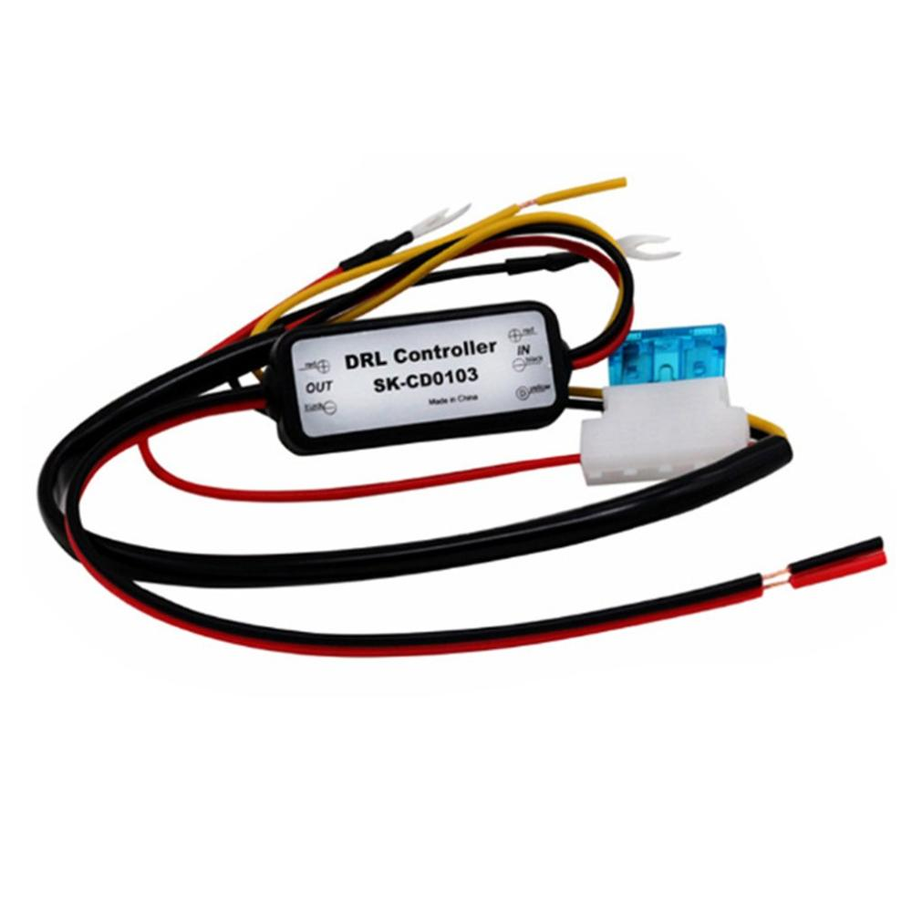 Car Daytime Running Light Controllers Intelligent LED Delay Controllers Time Delay Dimmer Module