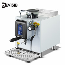 DEVISIB Touch Screen Commercial Automatic Espresso Coffee Machine Americano Maker with Bean Grinder and Milk Steamer commercial automatic 50l yogurt and fresh milk sterilizer milk sterilize machine for dairy farm milk pasteurizer