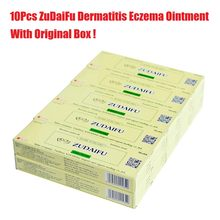 10PCS ZUDAIFU Natural Skin Creams Eczema Ointments Psoriasis Eczema Allergic Neurodermatitis