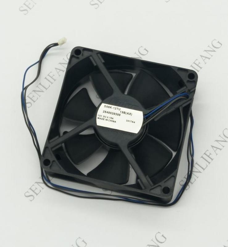 Free Shipping NIDEC 8025 12V 0.19A D08K-12TU 19B Cooling Fan