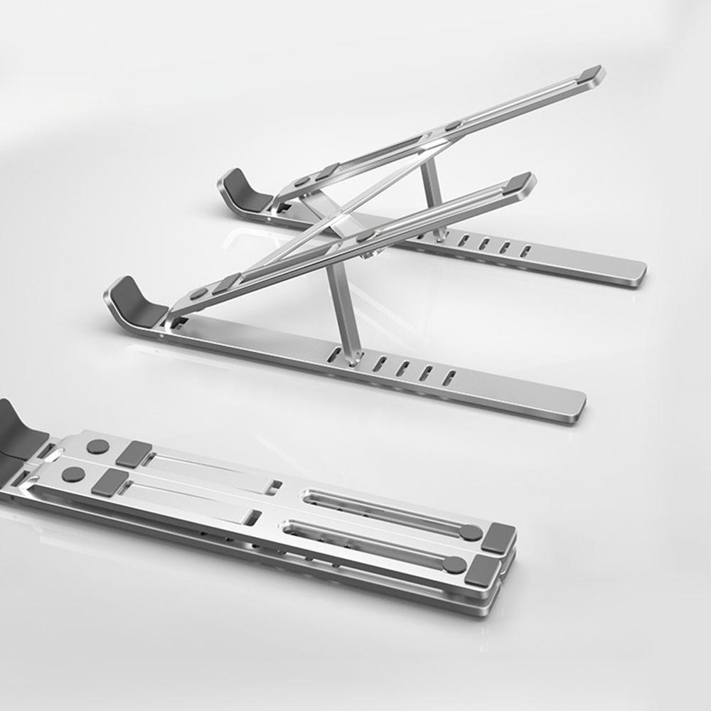 Laptop Stand Aluminum Alloy Folding Tablet Stand Laptop Stand Notebook Stand Aluminum Alloy Adjustable Stand