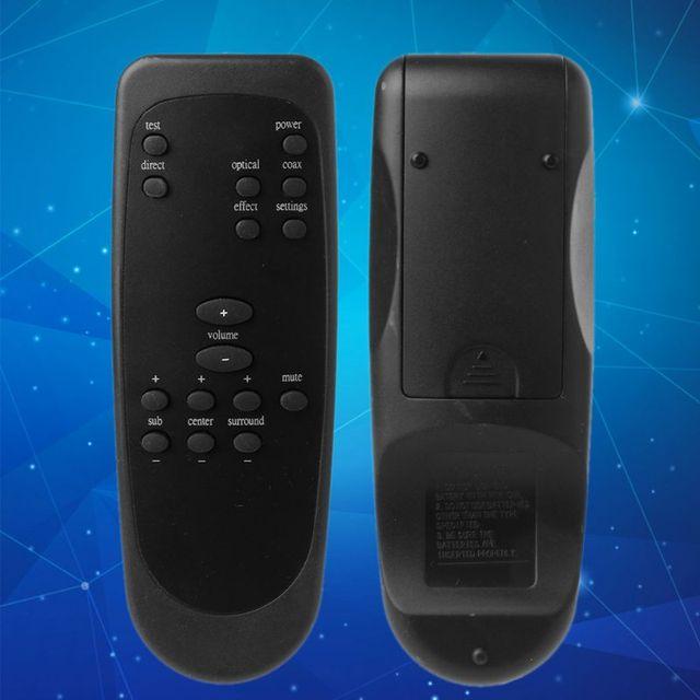 פלסטיק שלט רחוק בקר החלפה עבור Logitech Z5500 Z 5500 Z5450 Z 5450 Z680 מחשב מערכת רמקול אבזרים
