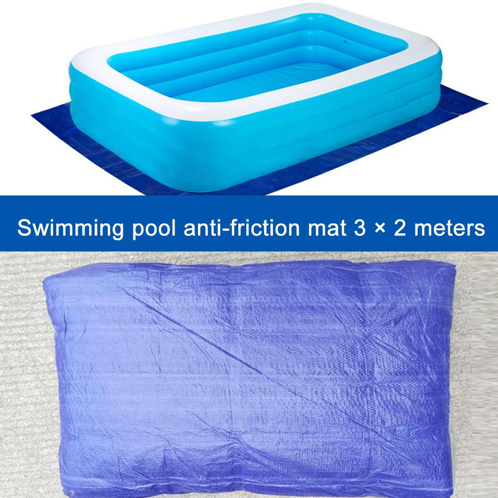 Portable Thicken Inflatable Swimming Pool Cover Sunscreen Easy To Carry Swimming Pool Ground Mat 3x2M/2*1.5M/4*2M
