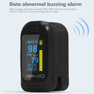 Image 4 - Health Care Finger Oled Pulse Oximeter SPO2 Medical Portable Blood Oxygen With Respiratory Rate Oximetro De Dedo Fit for family