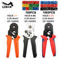 HSC8 6-6B HSC8 6-6A MINI-TYPE SELF-ADJUSTABLE CRIMPING PLIER 0.25-6mm terminals crimping tools multi HSC8 6-6