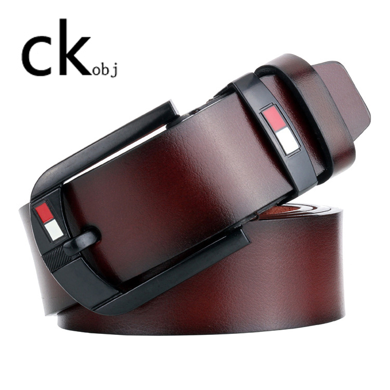 HOT High Quality Fashion pin buckle men's belt Vintage belt  pin buckle men belt BELT title=