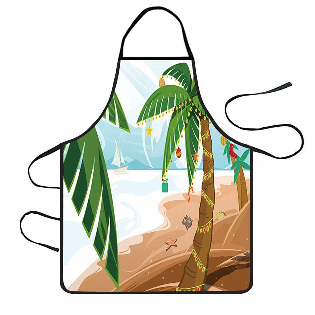 חג מולד קישוט עמיד למים סינר מטבח סינרי ארוחת ערב סינר 2019 תמיכה באיכות גבוהה סיטונאי Dropshipping 2