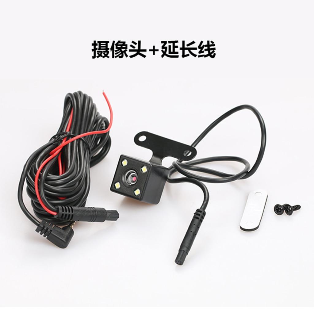 ZK30 5 Pin HD камера заднего вида Камера обратный Ночное видение 170 градусов Широкий формат Запись парковки Водонепроницаемый Цвет видео Камера