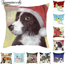 Fuwatacchi Red Christmas Pillow…