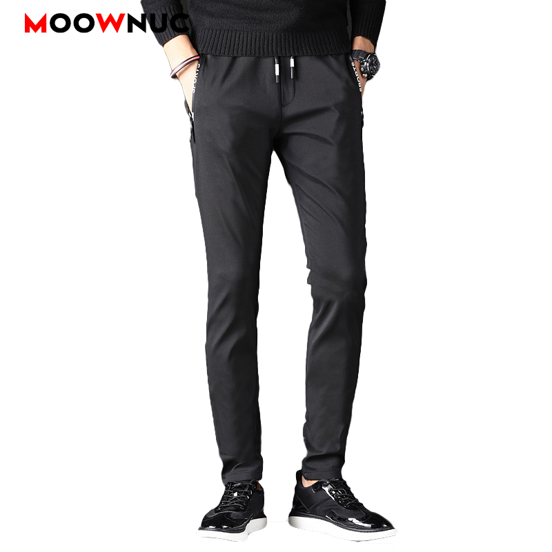 Men's Trousers Keep Warm Thick Fashion Winter Male Thermal Masculino Long Pant MOOWNUC Plus Size Business Casual Hombre 38 40 42