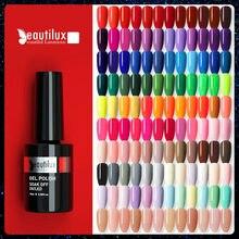 Beautilux модный гель для ногтей лак 120 Цвета профессиональный салон ногтей гели для нейл-арта лак UV LED! Полупостоянная лак для ногтей 10 мл