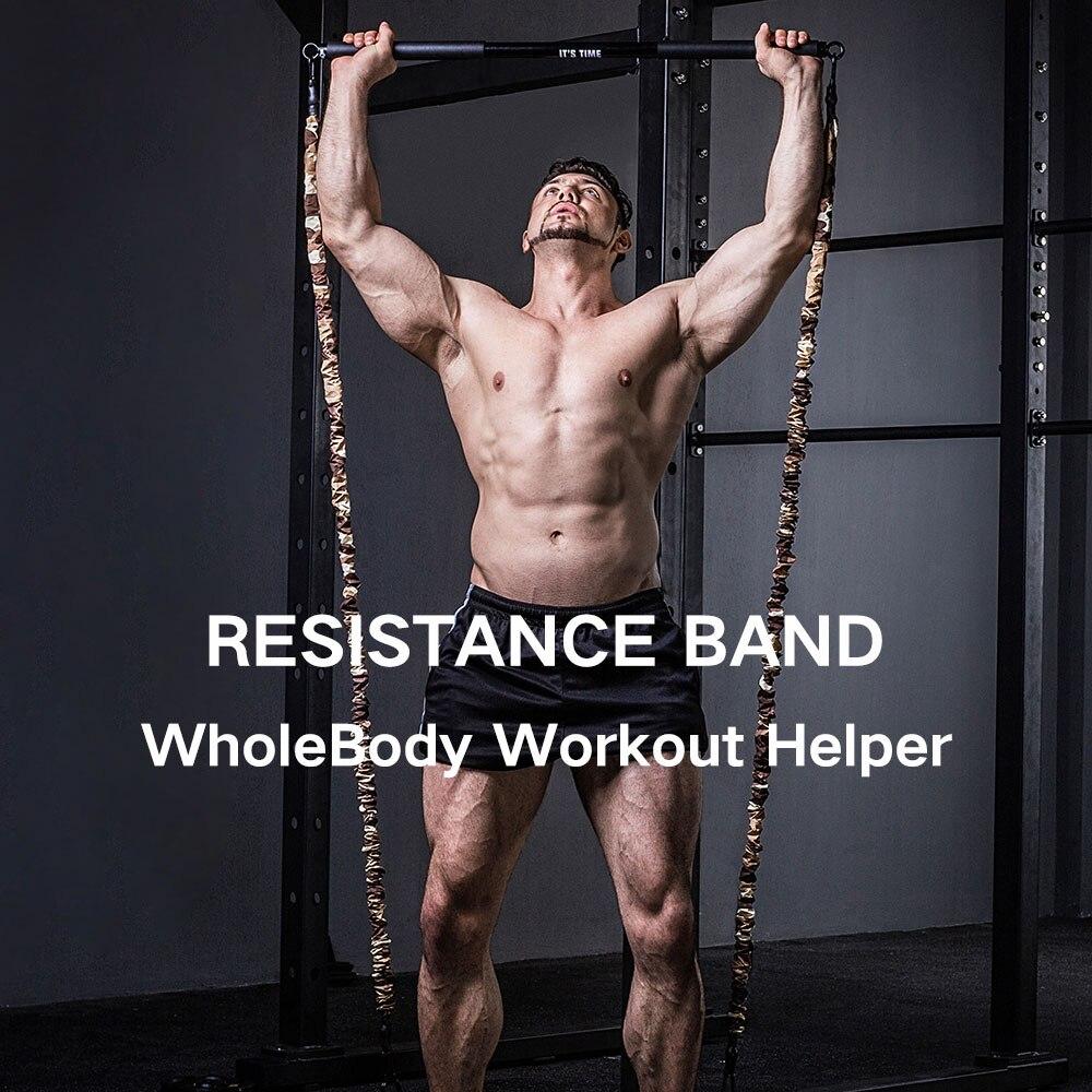 INNSTAR Anti-oxidation Resistance Tubes Heavy Duty Protective Nylon Sleeves Anti-snap Fitness Fullbody Training Fitness Agility