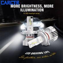 Carctr из 2 предметов автомобиля h7 светодиодный h4 Автомобильные