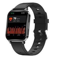 "Q18 חכם שעון גברים 1.75 ""מסך IP68 Waterproof קצב לב Spo2 דם חמצן צג כושר Tracker Bluetooth 5.0 Smartwatch"