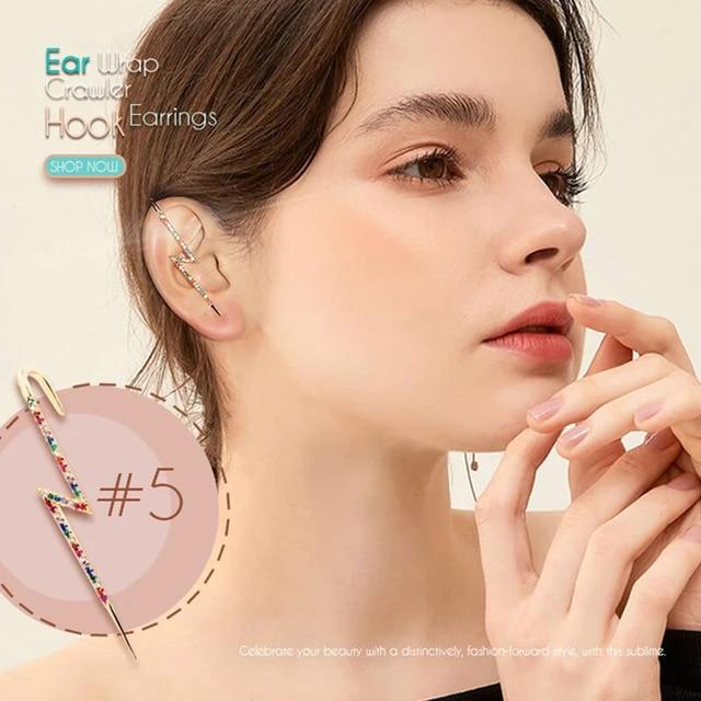 Ear Wrap Crawler Hook Earrings 2