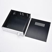 KYYSLB 215*70*228 مللي متر جميع الألومنيوم مكبر للصوت الهيكل 2207 طبعة قصيرة لتقوم بها بنفسك صندوق شل قبل مكبر للصوت أمبير الضميمة الهيكل DAC