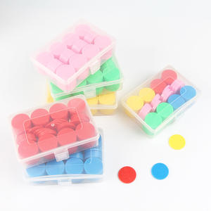 100PCSSet Plastic 25mm Math Toys Student Counter Early Education Counting Toys Markers Children Game Chips