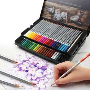 Watercolor-Pencils Pencils-Kit Drawing-Pen Painting Sketching Kids Children Set Art-Set