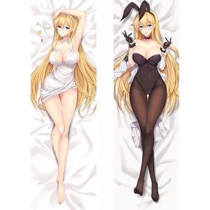 New Arrival Anime Game Azur Lane pillow Covers Dakimakura Case Sexy girl 3D Double-sided Bedding Hugging Body pillowcase AR39(China)