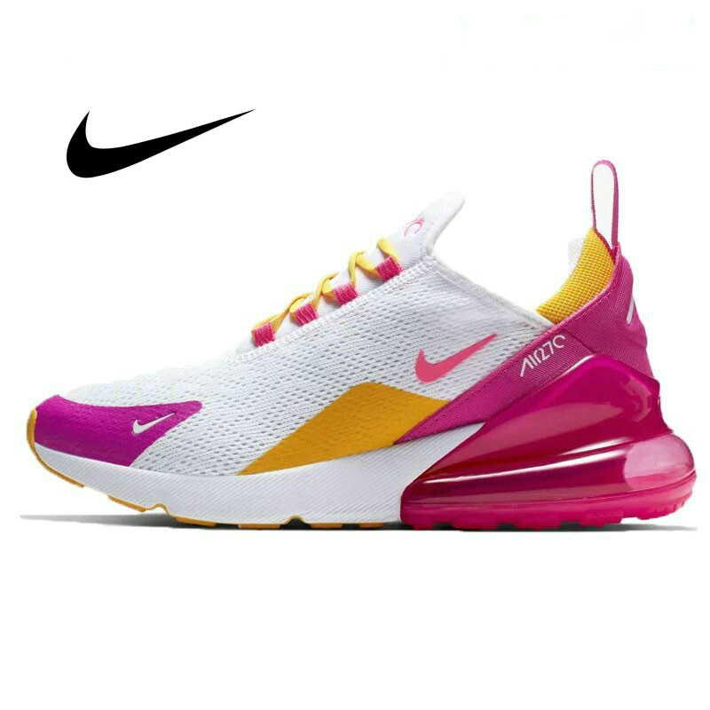 Original Authentic NIKE Air Max 270 Women's Running Shoes Sport Outdoor Sneakers Comfortable Breathable AH6789-601