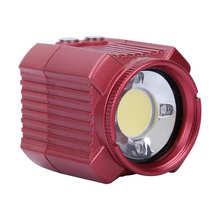 60m Waterproof מצלמה פלאש 2000LM 6500K LED אור מתחת למים USB טעינה צלילה LED למלא אור עבור Gopro Hero canon SLR מצלמה