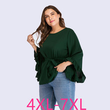 2019 new autumn winter plus size tops for women long