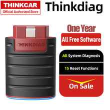 Thinkdiag toda a autorização livre um ano auto obd2 scanner sistema completo obd2 scanner automotivo obd2 ferramenta de diagnóstico