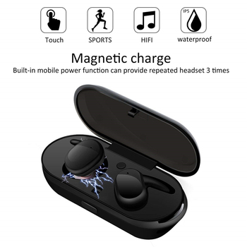 Savioke  Y30 Wireless Blutooth 5.0 Earphone Noise Cancelling Headset 3DSound Music In-ear Earbuds For Android IOS Cell 1