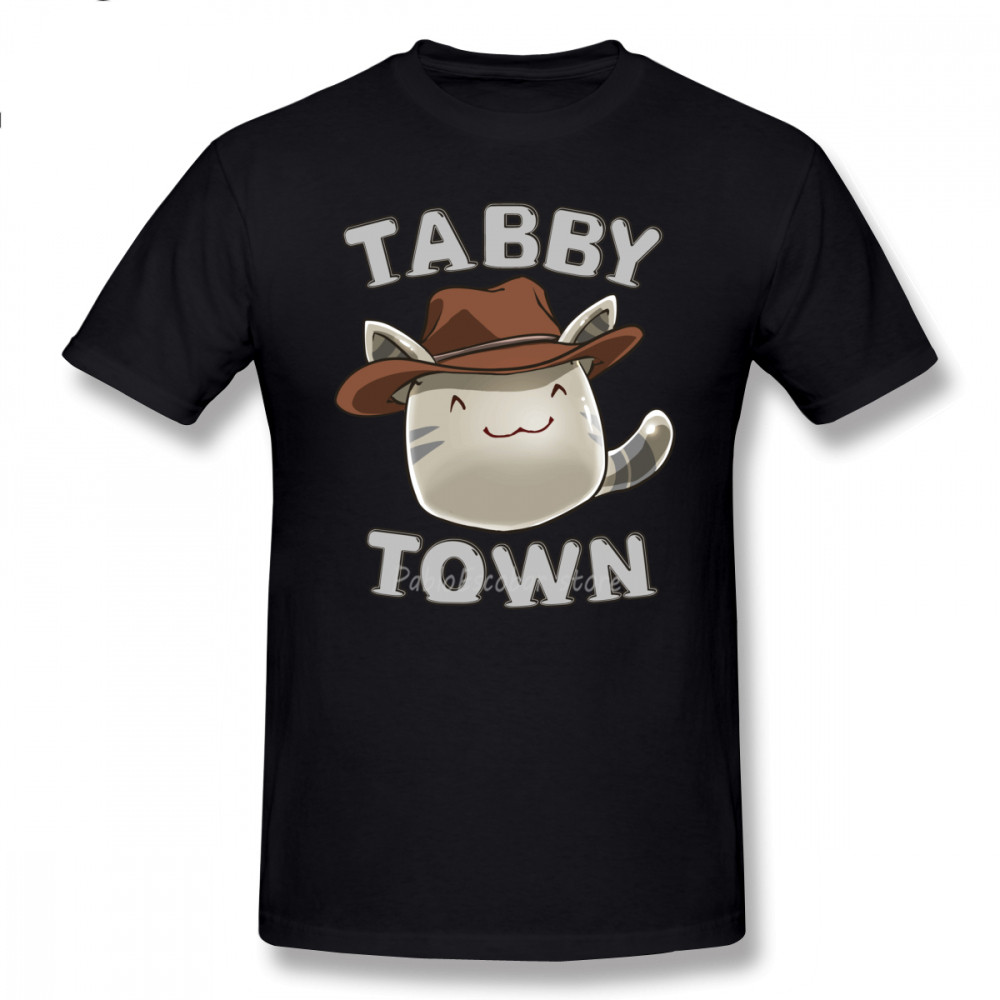 <font><b>Slime</b></font> Rancher <font><b>T</b></font> <font><b>Shirt</b></font> Tabby Town <font><b>T</b></font>-<font><b>Shirt</b></font> Graphic XXX Tee <font><b>Shirt</b></font> Awesome Short Sleeve Cotton Male Fashion Tshirt image