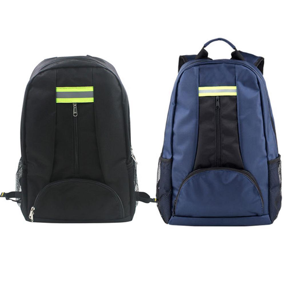 Multifunction Backpack Shoulder Toolkit Thickened Waterproof Wear Resistant Oxford Cloth Electrician Repair Tool Bag Large